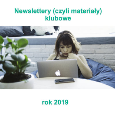 Newslettery klubowe 2019